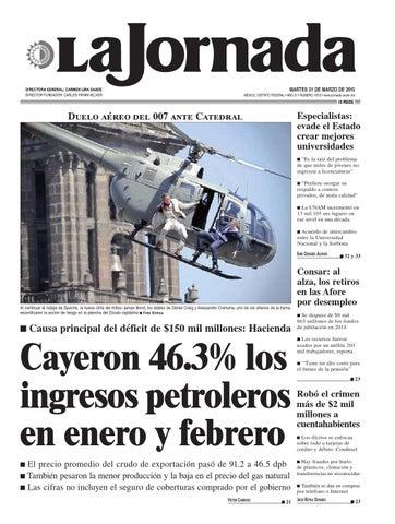 La Jornada 03 31 2015 By La Jornada Issuu