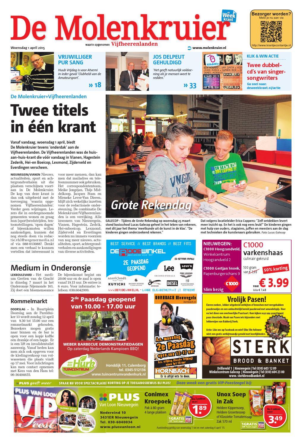 f7338bc18be De Molenkruier week14 by Wegener - issuu