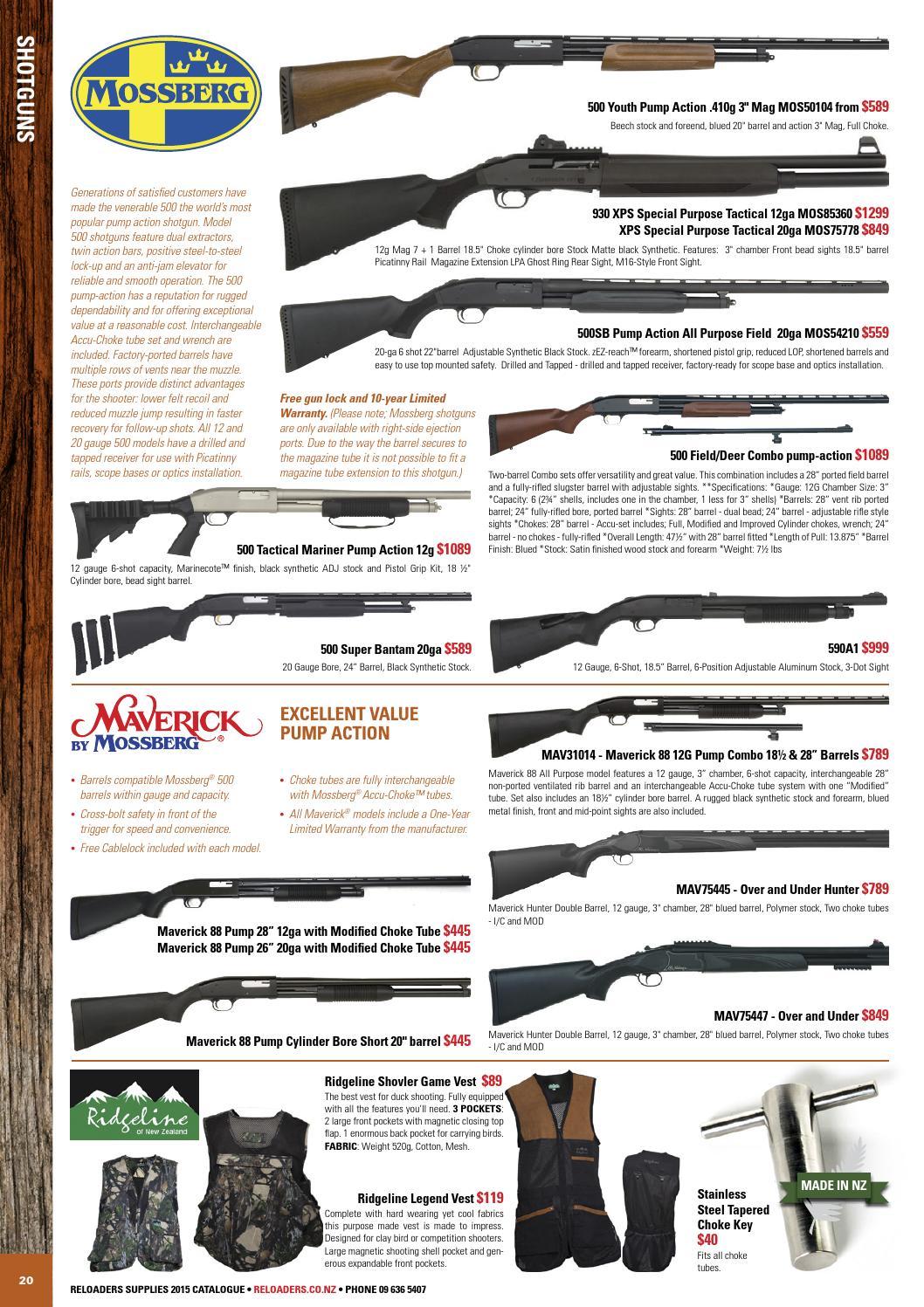 Mossberg 500 lpa trigger
