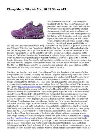 quality design 8cf16 0b935 Page 1. Cheap Mens Nike Air Max ...