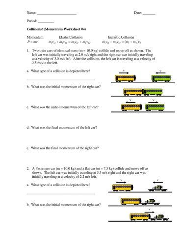 Inelastic collisions worksheet student by Emlyn Majoos - issuu