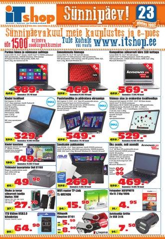 55b345fbe18 Itshop infoleht Aprill 2015 by ITshop - issuu