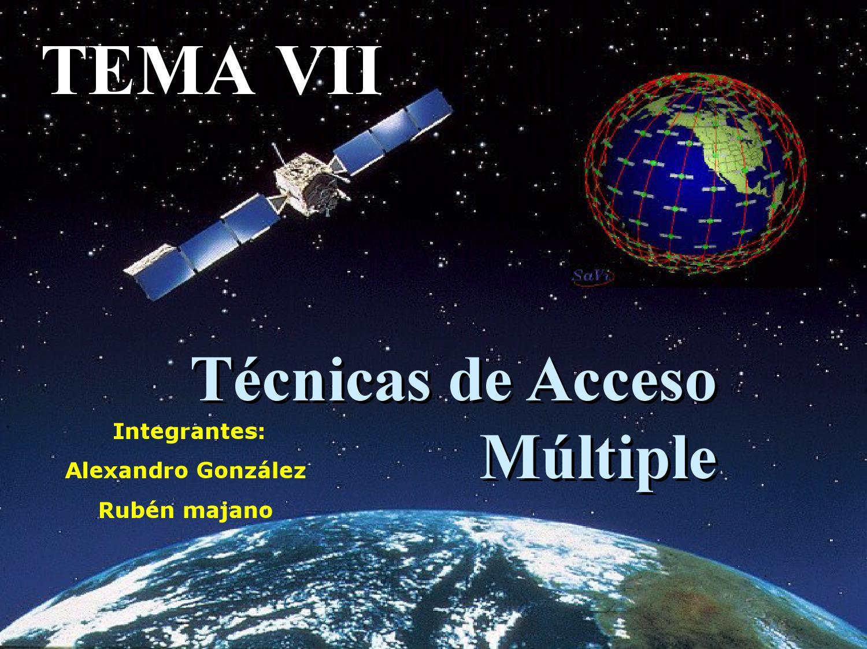 Tema 7 tecnicas de acceso multiple by Alexandro Gonzalez - issuu