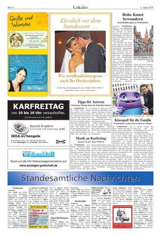 Grafschafter Wochenblatt142015 By Sonntagszeitung Issuu