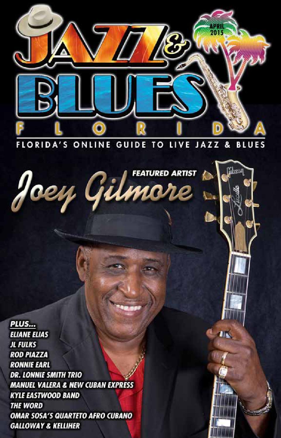 Jazz & Blues Florida April 2015 Edition by JazzBluesFlorida
