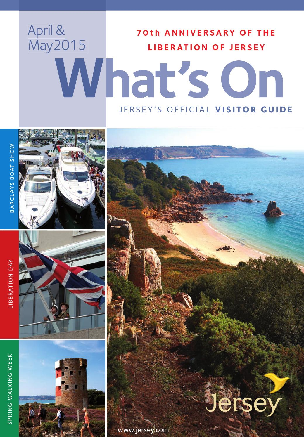 What S On In Jersey April May 2015 By Visit Jersey Issuu