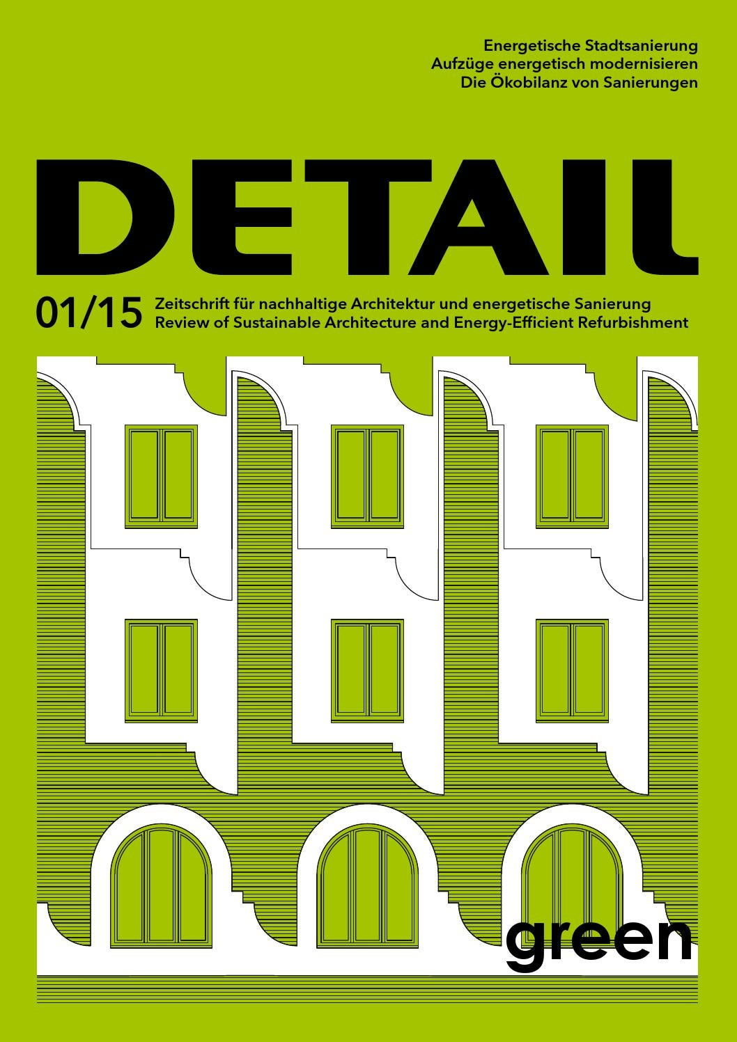 Green 01/2015 by DETAIL - issuu
