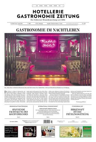 HG Zeitung 10 2015 By Hotellerie Gastronomie Verlag