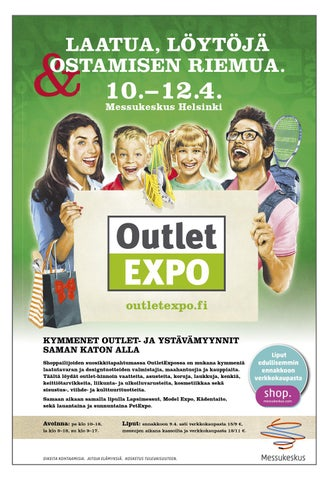 OutletExpo 2015 kevät messuopas by Messukeskus - issuu c294d81e69