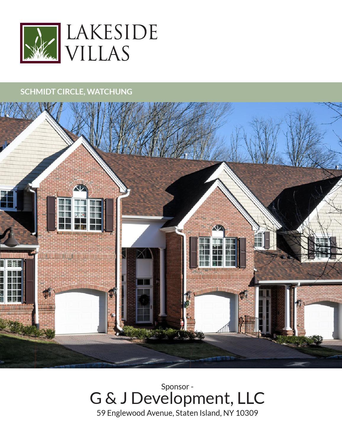 Lakeside Villas, Watchung, Nj By Berkshire Hathaway