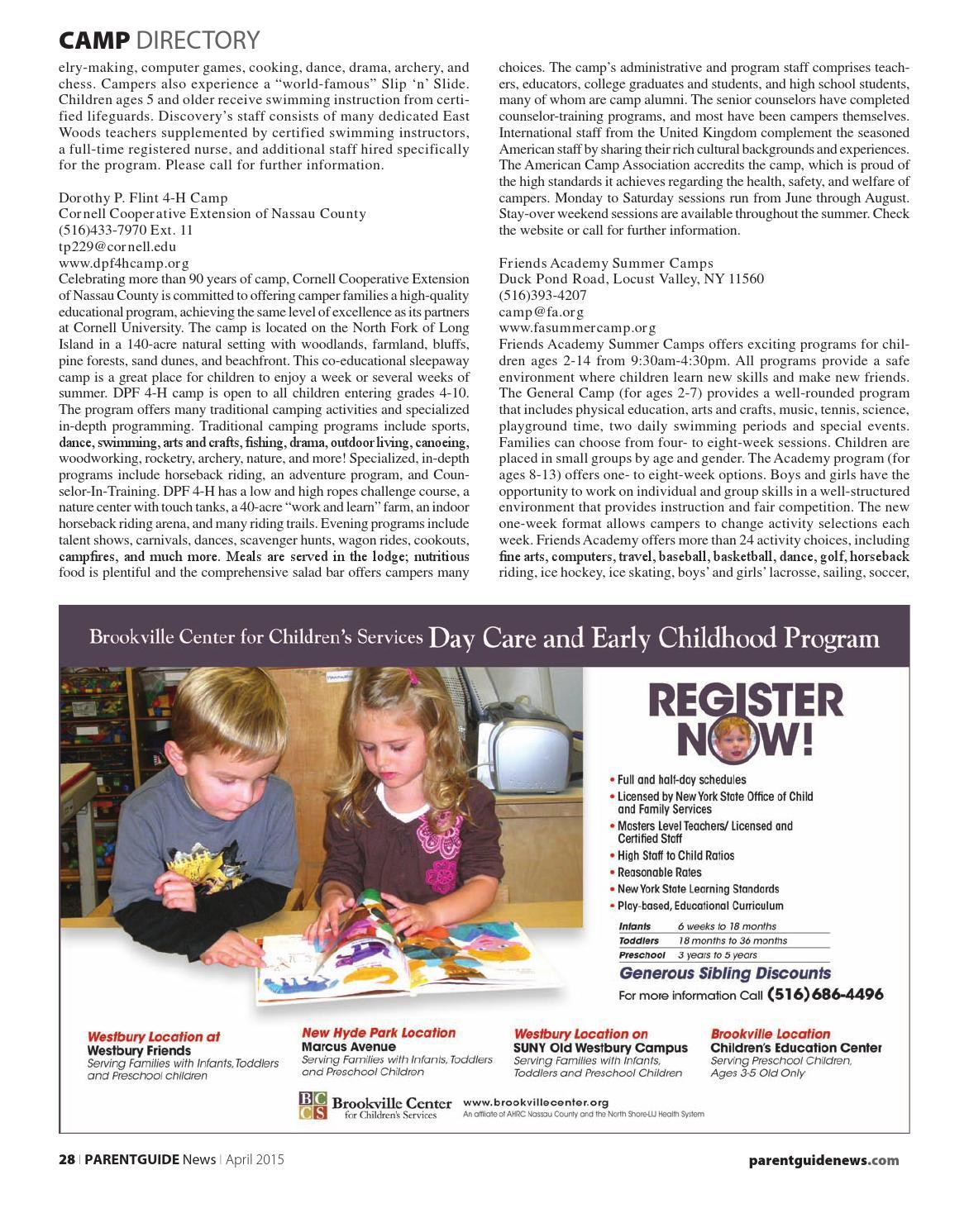 April 2015 Nassau Queens By PARENTGUIDE News