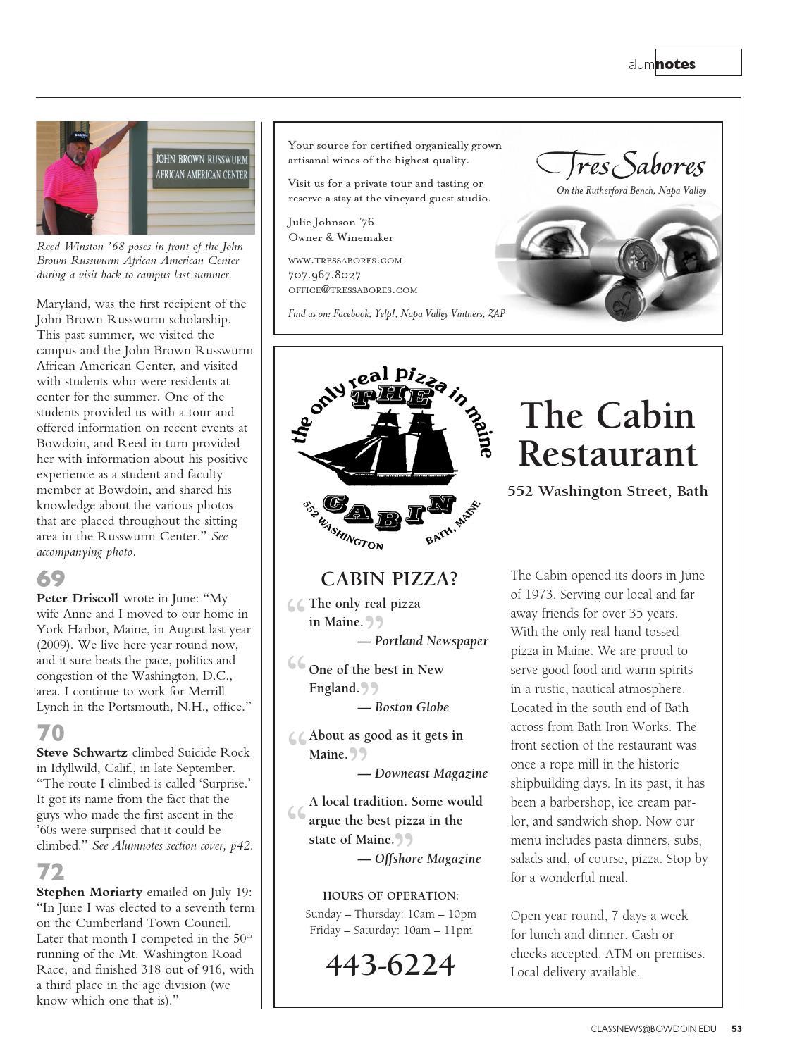 Bowdoin Magazine, Vol  82, No  1, Winter 2011 by Bowdoin