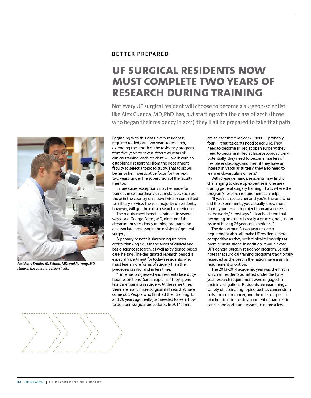 University of Florida College of Medicine Department of
