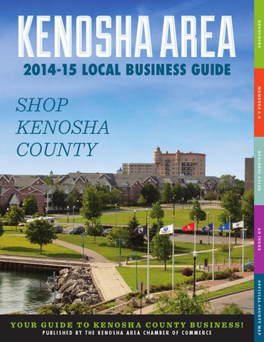 2014-15 Local Business Guide by Kenosha Area Chamber of