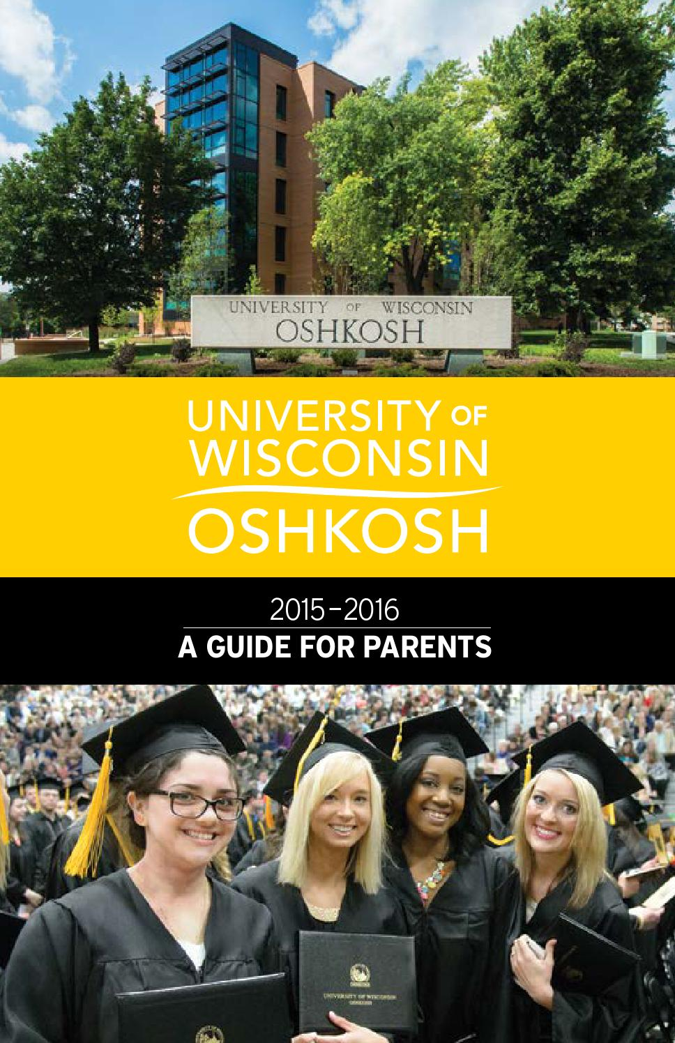 University Of Wisconsin Oshkosh 2015 Guide For Parents By