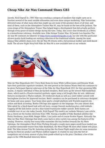 Cheap Nike Air Max Command Shoes GB3 by luxuriantjug8793 - issuu 5a348a2780