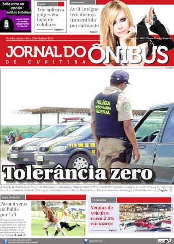 Jornal do Onibus de Curitiba - Edição do dia 02-04-2015 by Editora ... af338954334