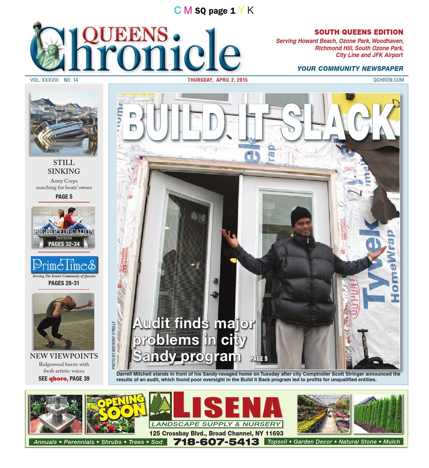 Queens chronicle south edition 04 02 15 by queens chronicle issuu aiddatafo Choice Image