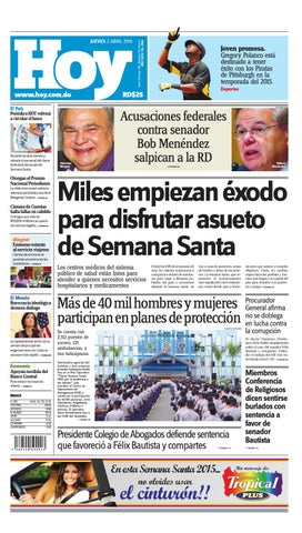 c05890179860e Periódico jueves 02 de abril by Periodico Hoy - issuu