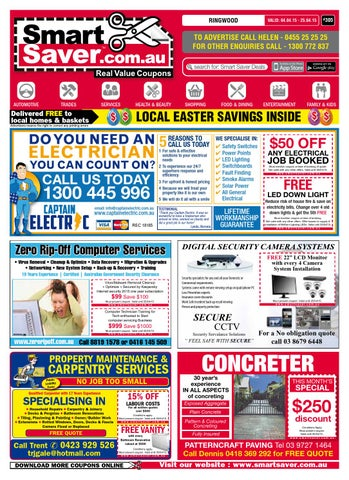 Smart Saver Ringwood Issue 305 By Smart Saver Real Value Deals Issuu