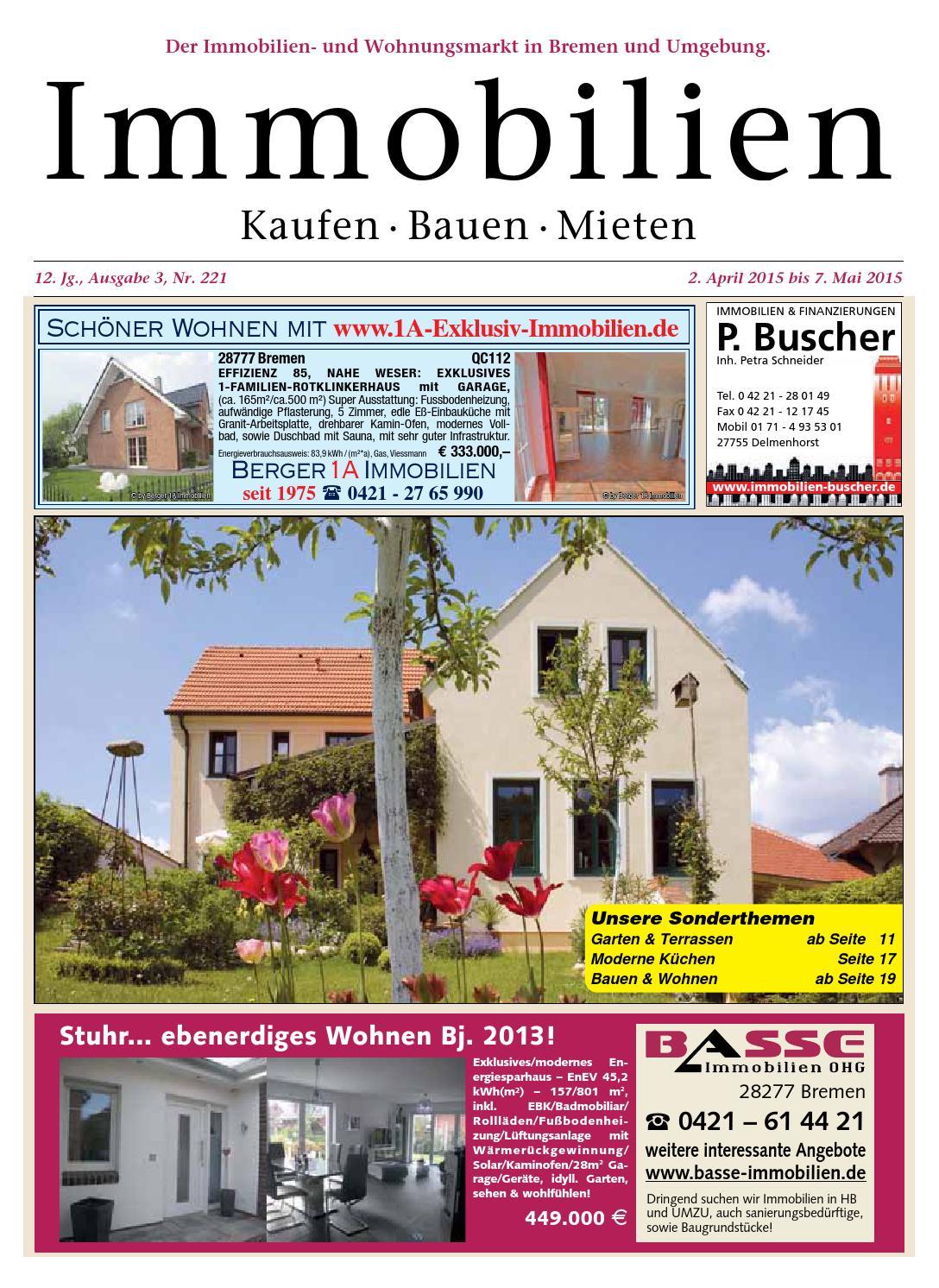 Kaufen Bauen Mieten - April 2015 by KPS Verlagsgesellschaft mbH - issuu