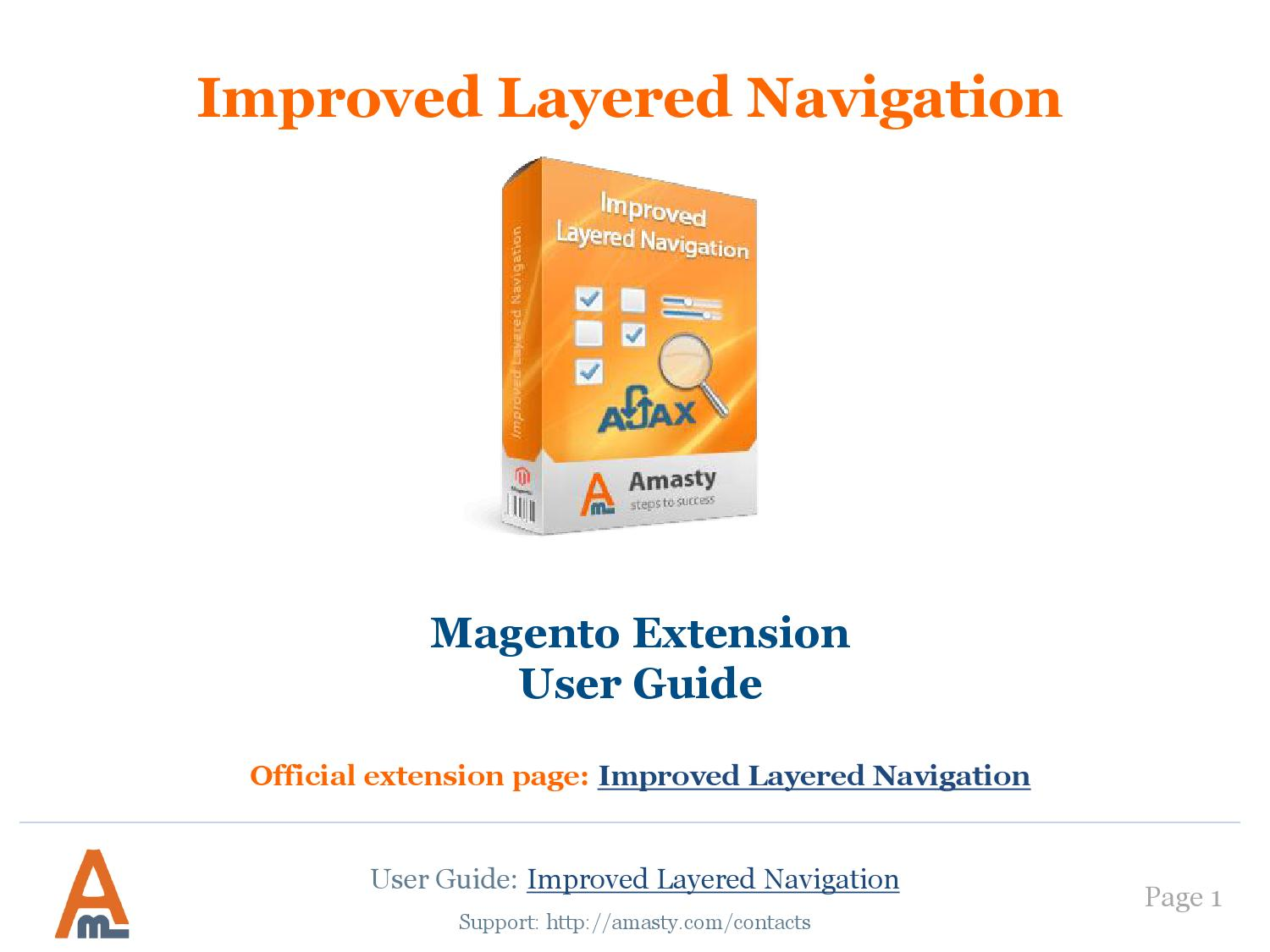 Improved layered navigation user guide by Esense - issuu