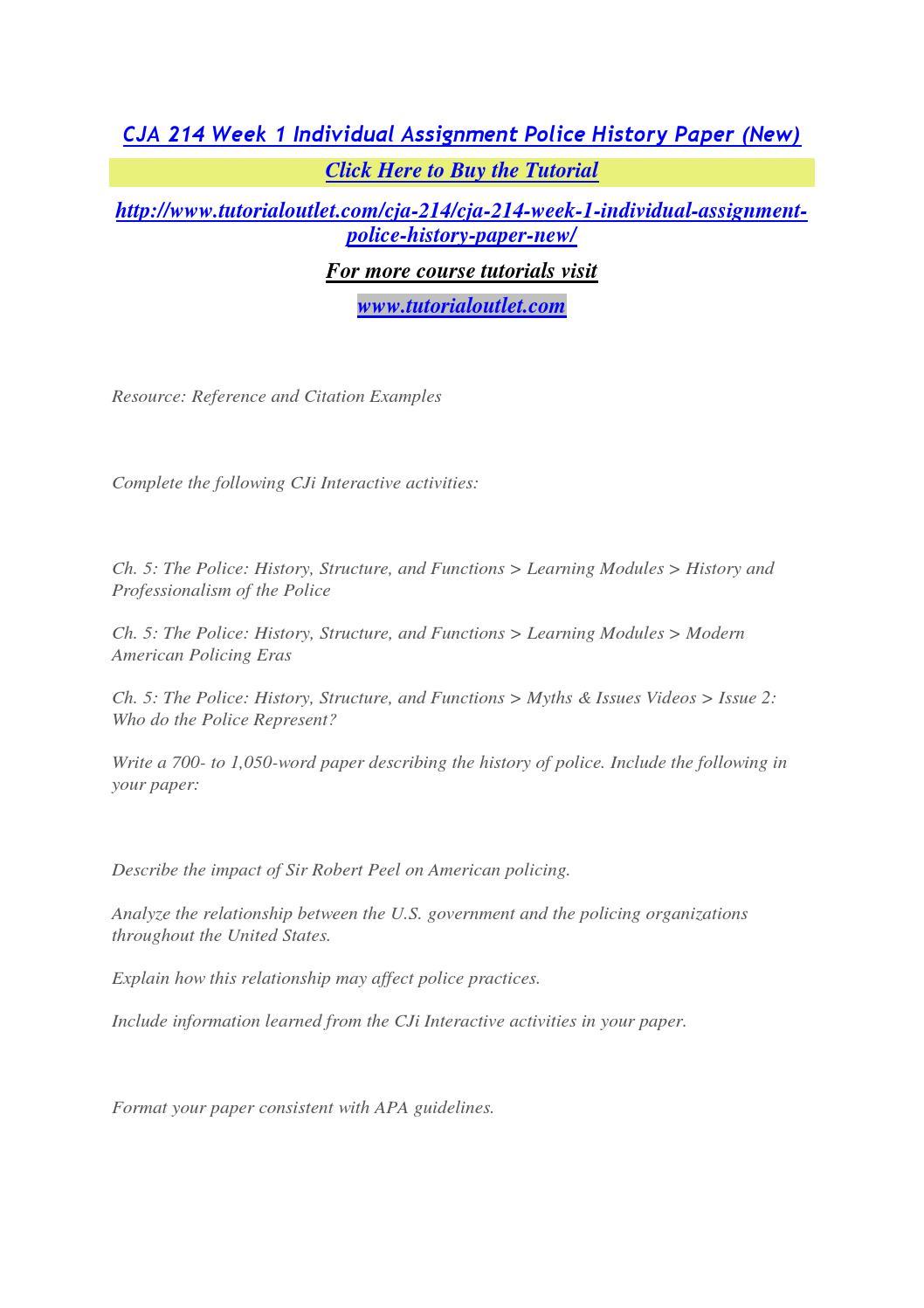 CJA 214 Courses / cja214dotcom