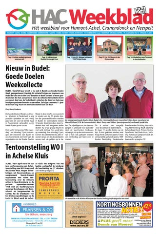 6cb8a35cb534de HAC Weekblad week 14 2015 by HAC Weekblad - issuu