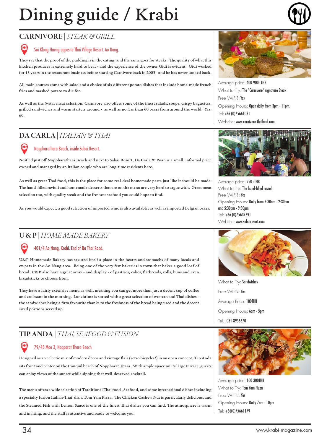 Krabi Magazine April May By Kitdee Media Design Co Ltd