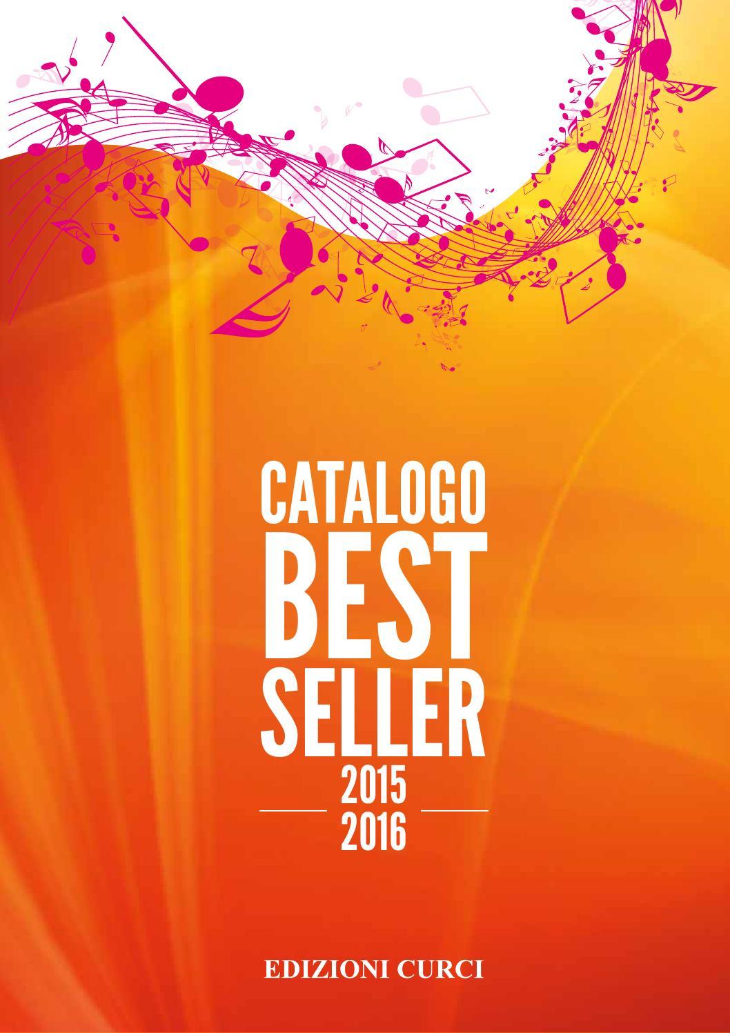 ec best seller 2015 2016 by edizioni curci issuu. Black Bedroom Furniture Sets. Home Design Ideas