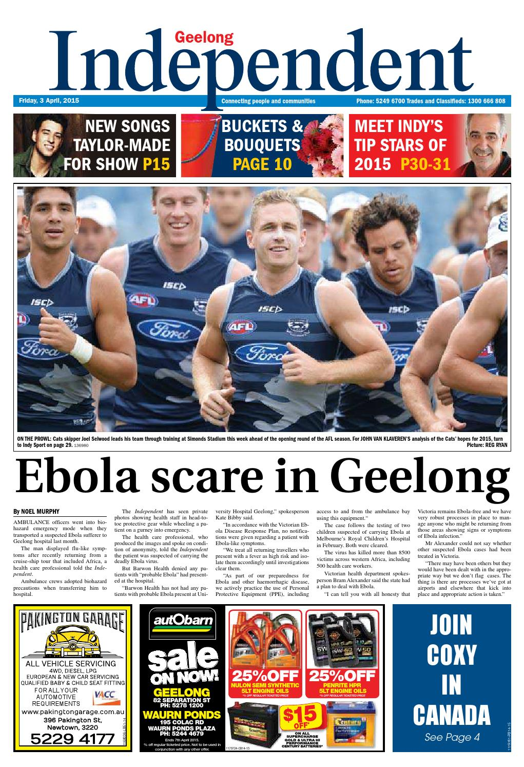 Geelong Independent - 03rd April 2015 by Star News Group - issuu