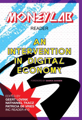 MoneyLab Reader: An Intervention in Digital Economy