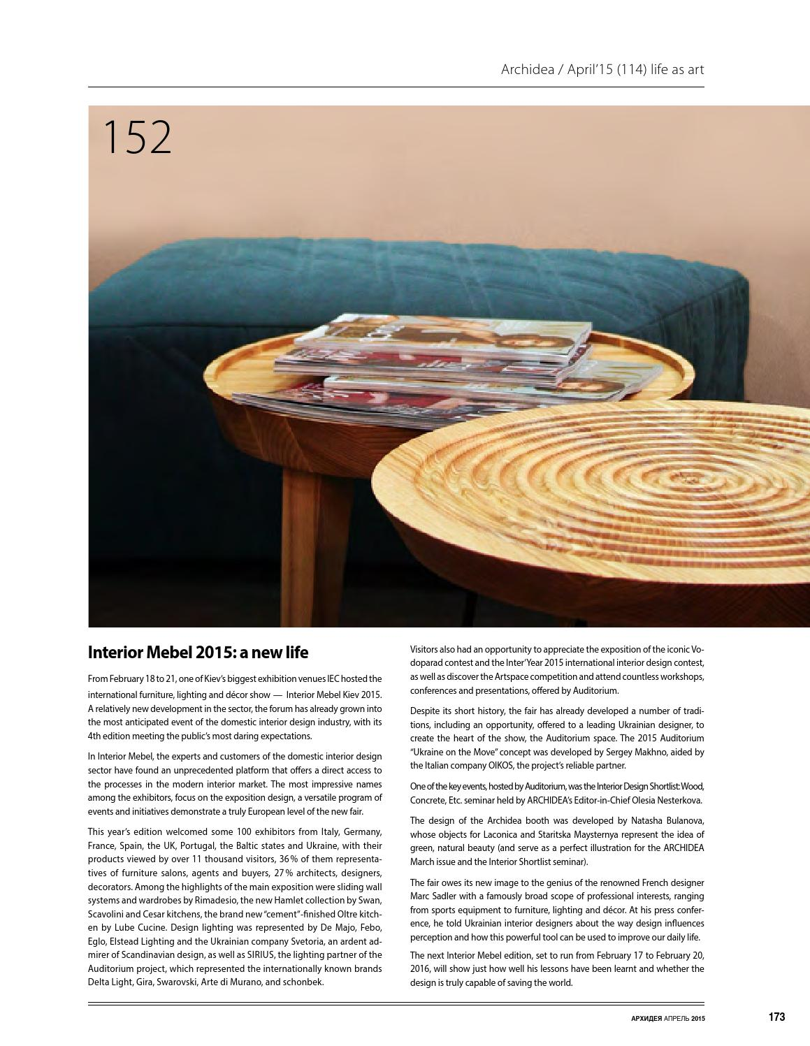 Archidea 2015.04 by Shadow.ua - issuu