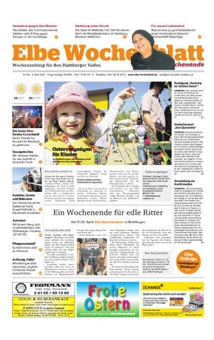 Wochenende Kw14 2015 By Elbe Wochenblatt Verlagsgesellschaft Mbh