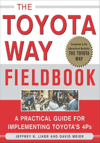 The toyota way fieldbook by matthew betsy issuu page 1 fandeluxe Gallery
