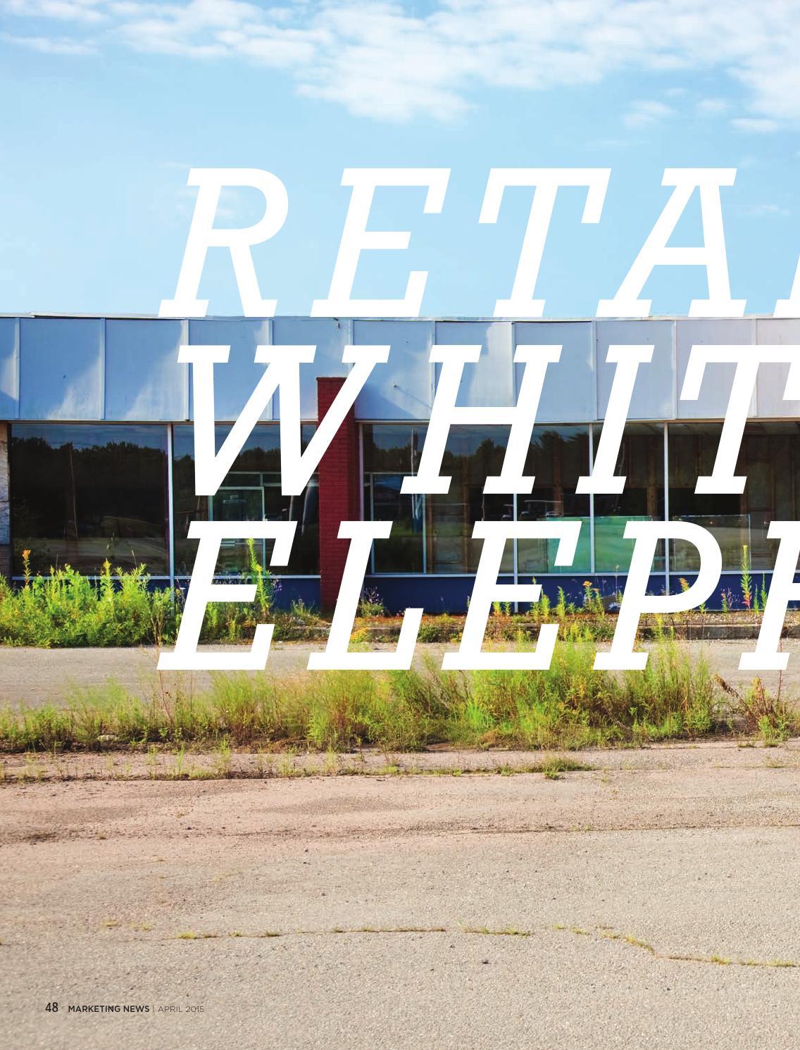 Retails White Elephants By Christine Birkner Issuu Wiring Money Publix