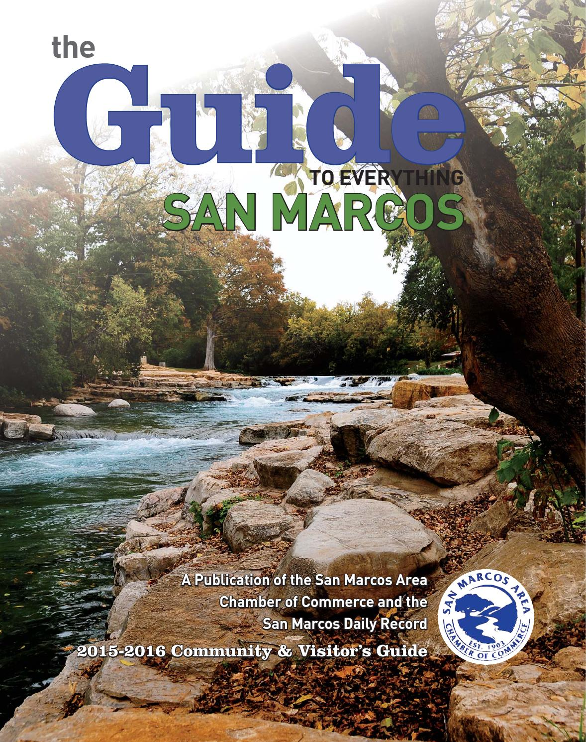 The Guide to Everything San Marcos by Digital Publisher - issuu