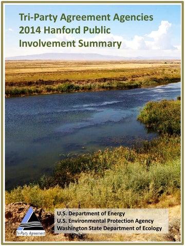2014 Hanford Public Involvement Survey Tri Party Agreement