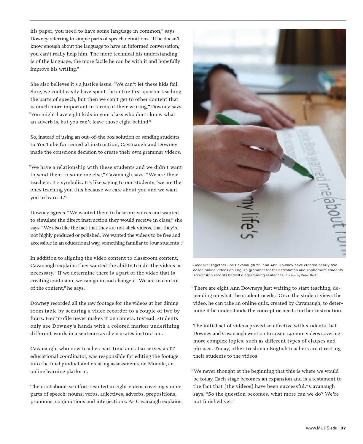 MUHS Magazine Winter/Spring 2015 by Marquette University