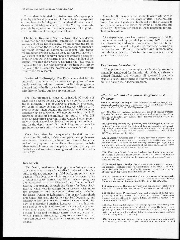 1995 98 graduate catalog by USU Digital Commons - issuu