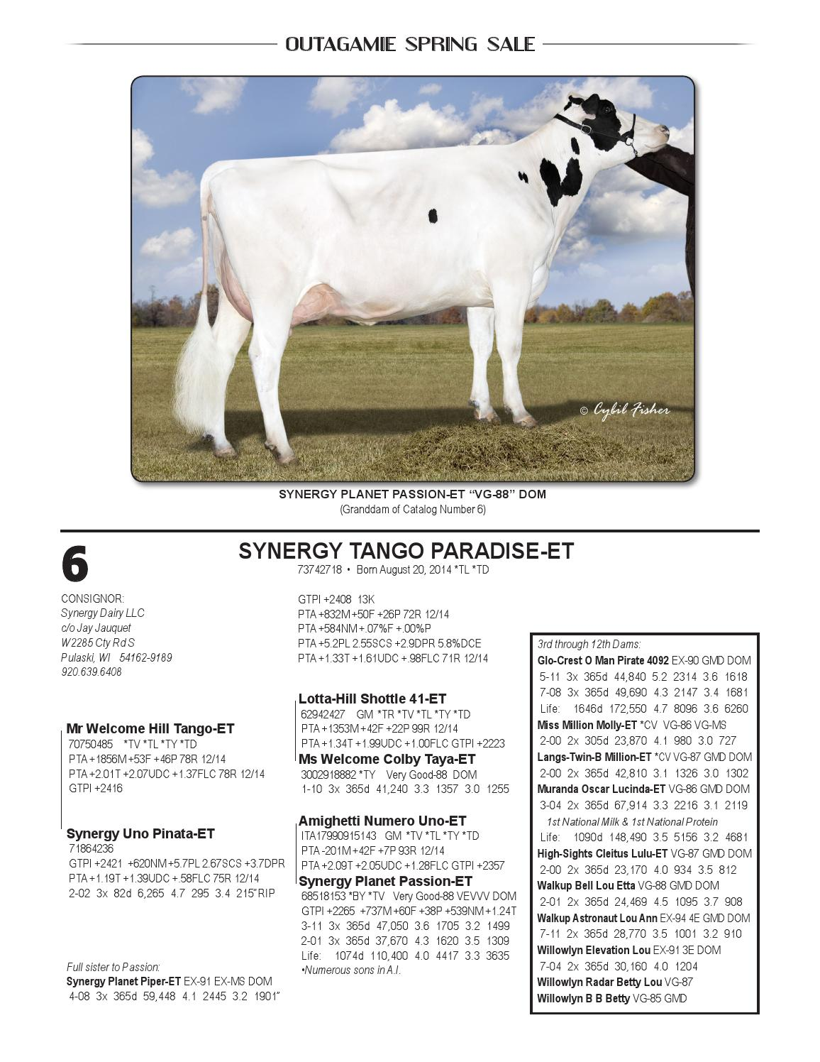Outagamie Spring Sale 2015 By Dairy Agenda Today Issuu Etta Goat Milk