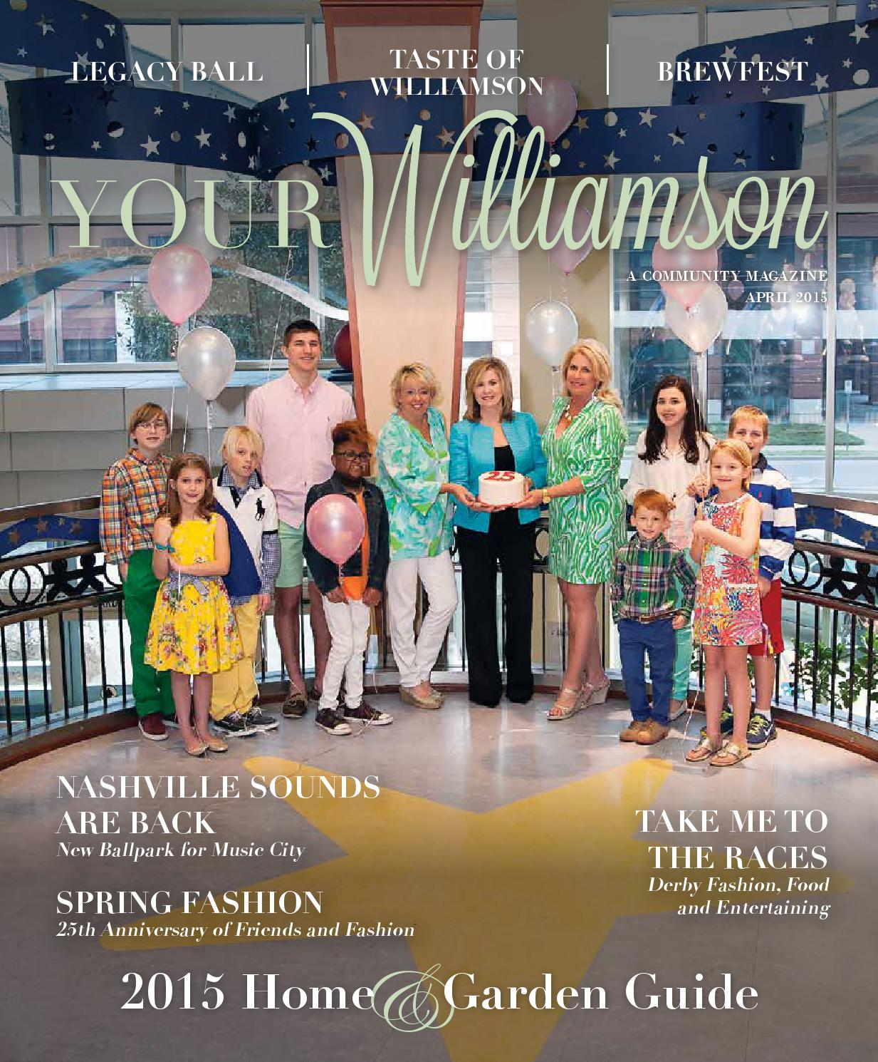 April 2015 By YOUR Williamson