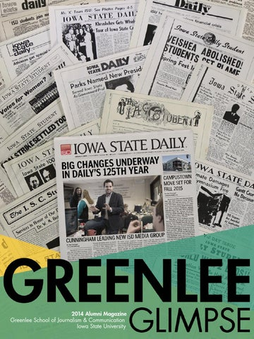 2014 Greenlee Glimpse by Greenlee School of Journalism and ... 8150044188