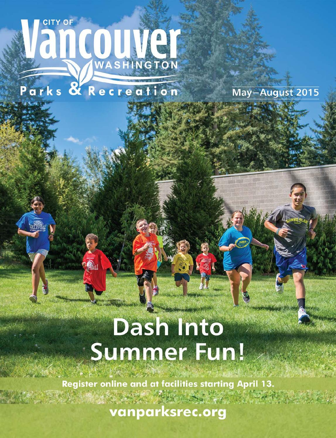 Vancouver Parks And Recreation Summer 2015 Programs Catalog By Jen Thomas Issuu