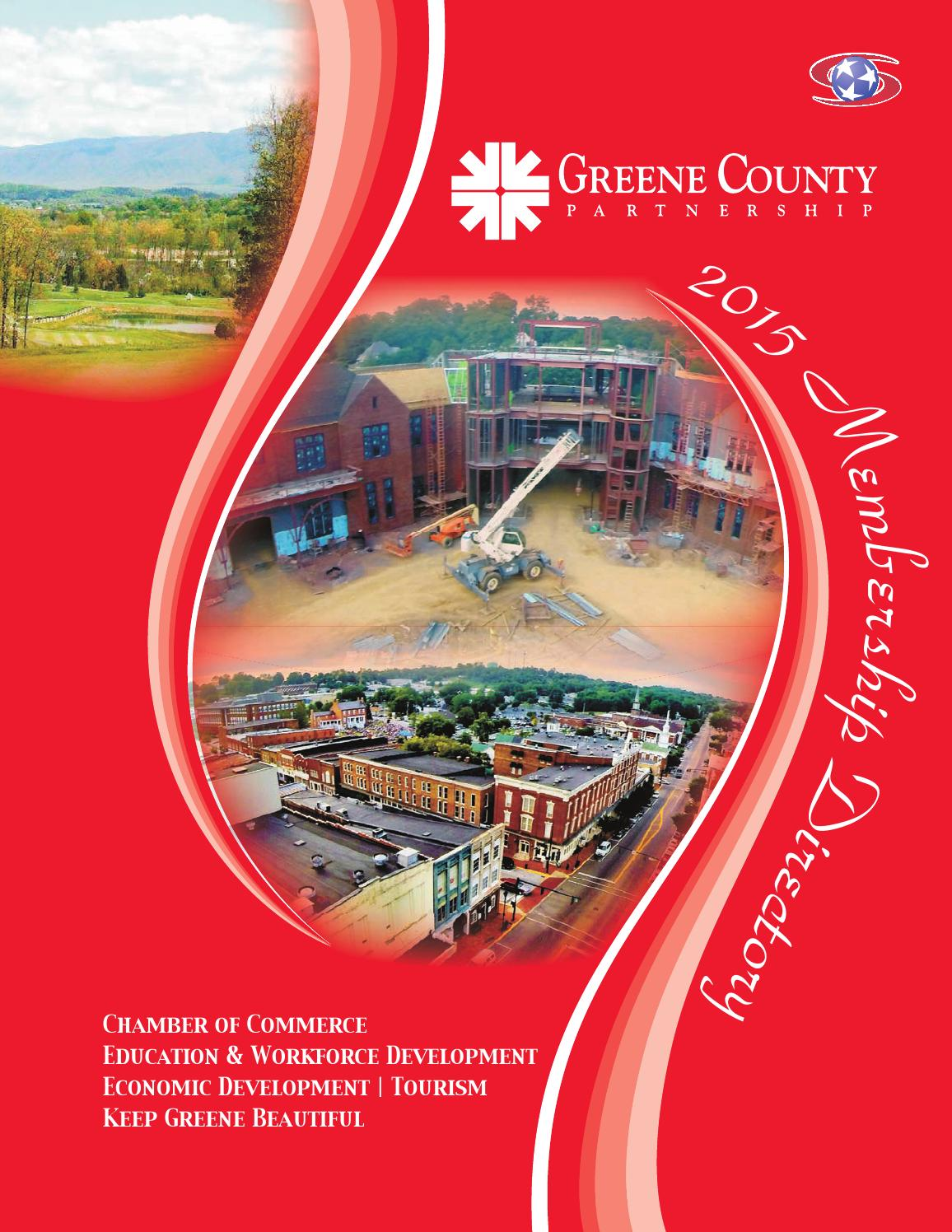 Greene County Partnership Directory 2015B by The Greeneville