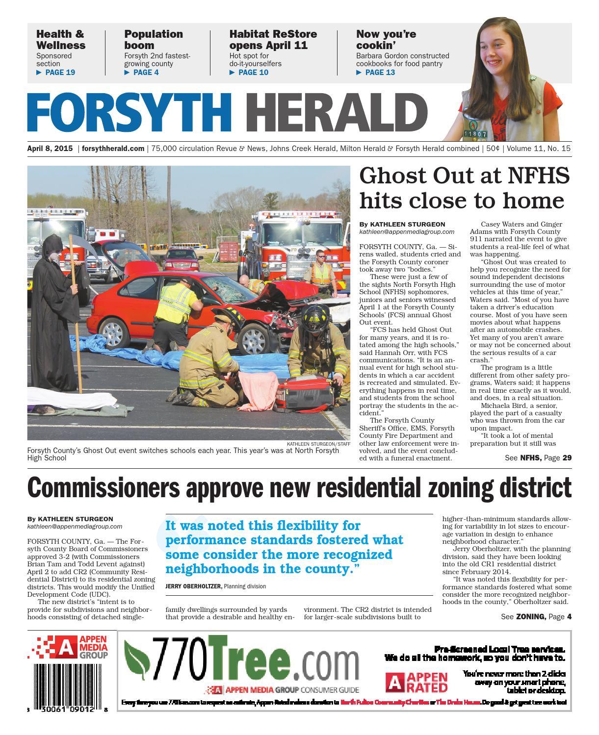 Forsyth Herald April 8 2015 By Appen Media Group