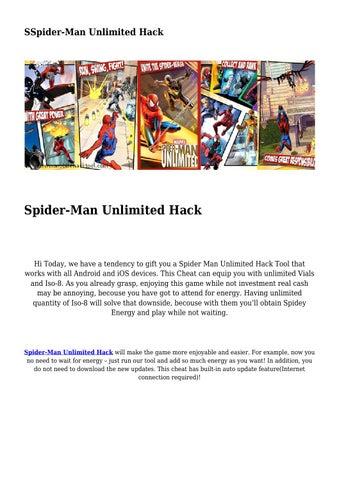 descargar spiderman ultimate power hackeado