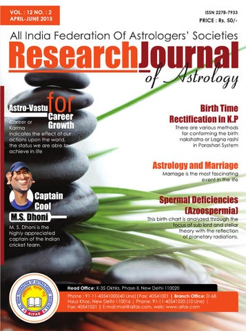 Research Journal April 2015 by Future Samachar - issuu