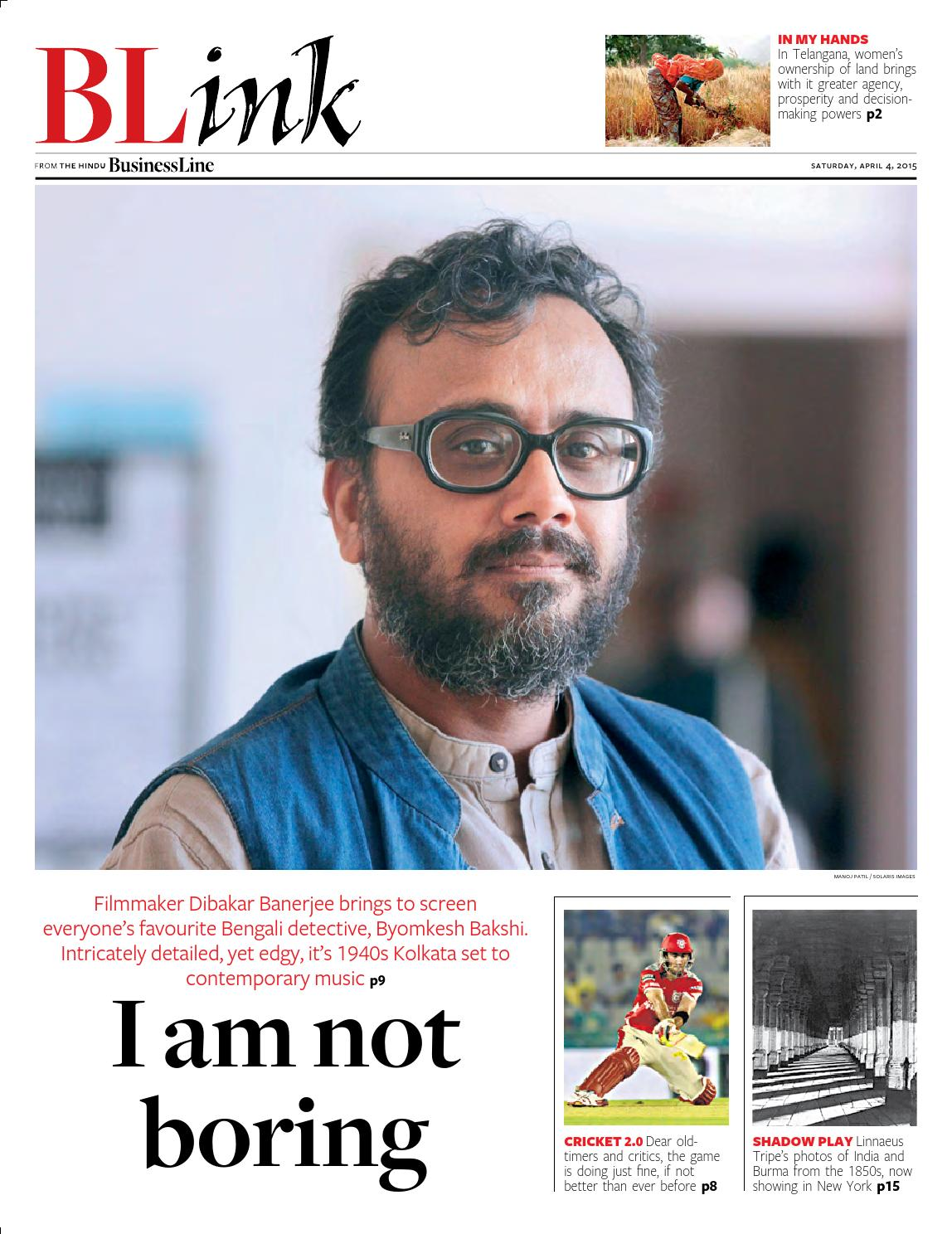 Blink issue 62 april04 2015 by Partha Pratim Sharma-Portfolio - issuu