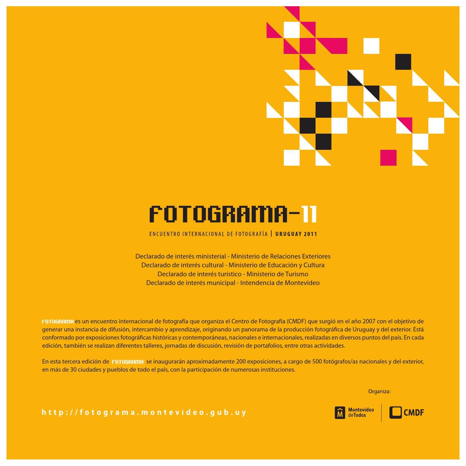 FOTOGRAMA 2011 by Luca Benites - issuu